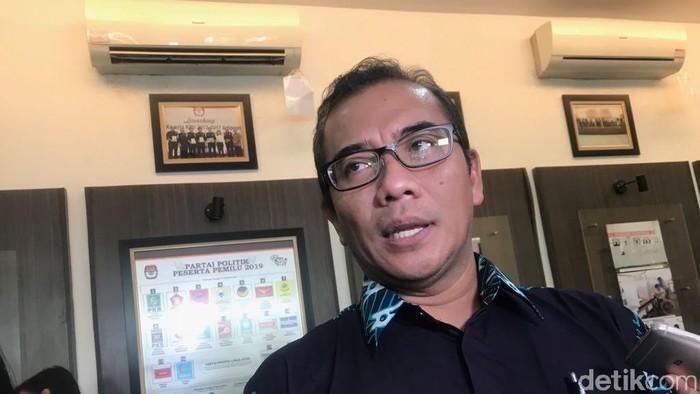 Komisioner KPU Hasyim Asyari (Dwi-detik)