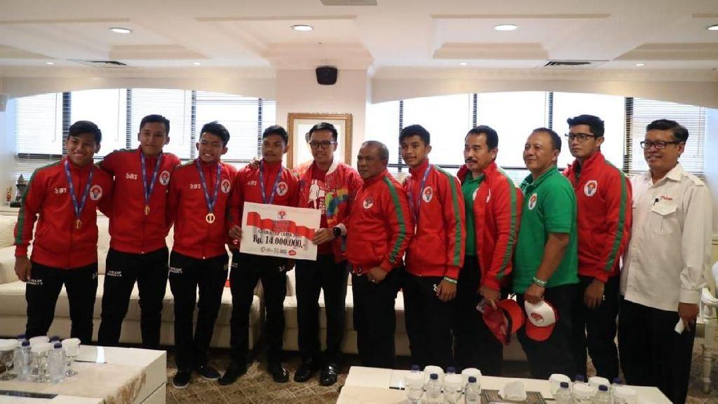 Juara Gothia Cup, Tim Pelajar U-16 Diganjar Beasiswa dari Menpora