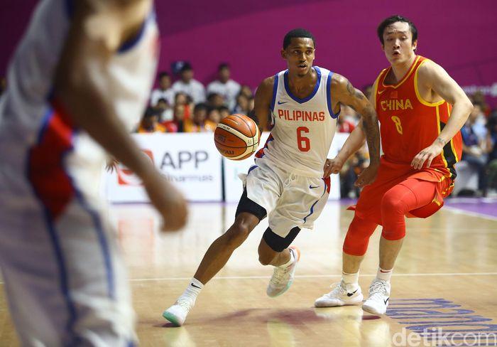 Pada laga Asian Games 2018 di Hall A Senayan, Selasa (21/8/2018) Filipina kalah tipis 80-82 dari China.