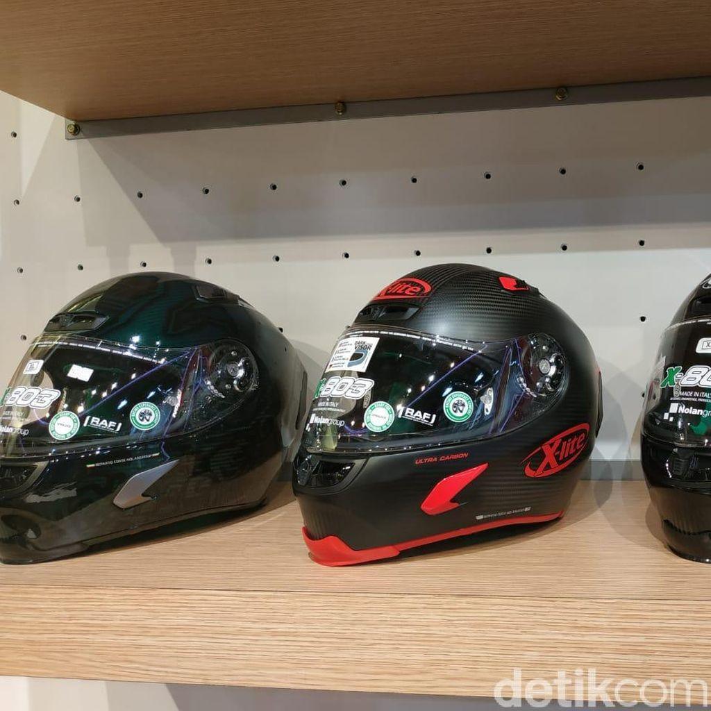 Ini yang Bikin Helm MotoGP Harganya Mahal