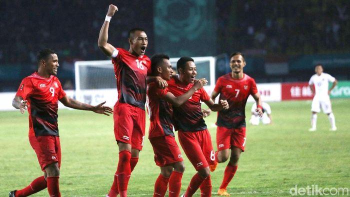 Timnas Indonesia U-23 juga sanggup bonus dari pemerintah meski gagal meraih medali (Agung Pambudhy/detikSport)
