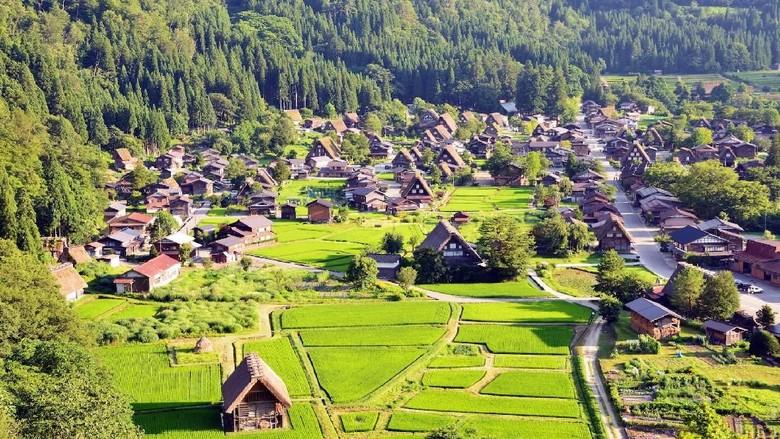 Desa Shirakawa yang indah dan paling terkenal di Jepang (shirakawa-go.gr.jp)
