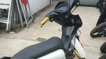 Polisi Tilang dan Sita Motor Penabrak Ridwan Kamil