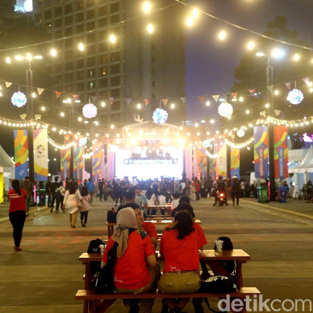 Area Asian Fest di GBK Semarakkan Asian Games 2018