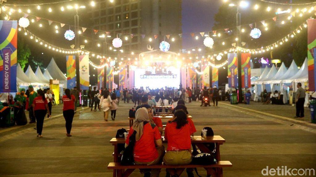Area Asian Fest di GBK Semarakan Asian Games 2018