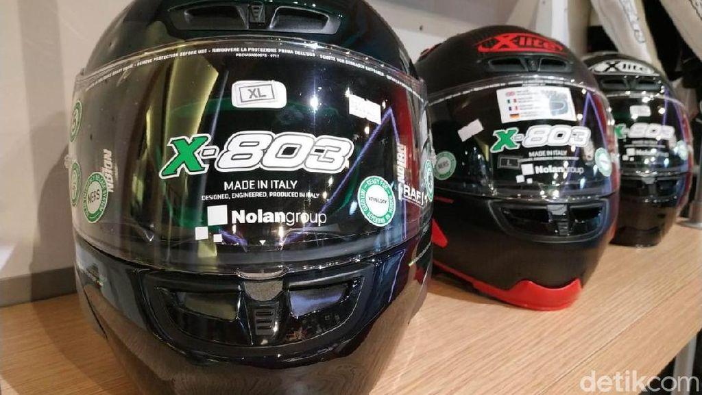 Helm Jokowi, Menabung Sedikit Bisa Punya Helm Pebalap MotoGP