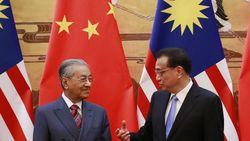Mahathir Minta China Bantu Atasi Masalah Keuangan Malaysia