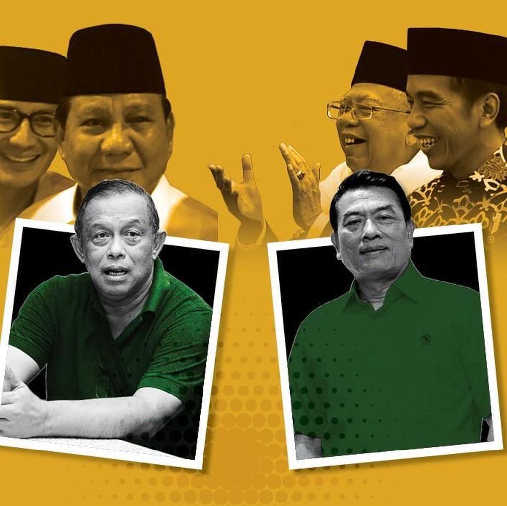 Atur Strategi, Jokowi dan Prabowo Rekrut Eks Panglima TNI