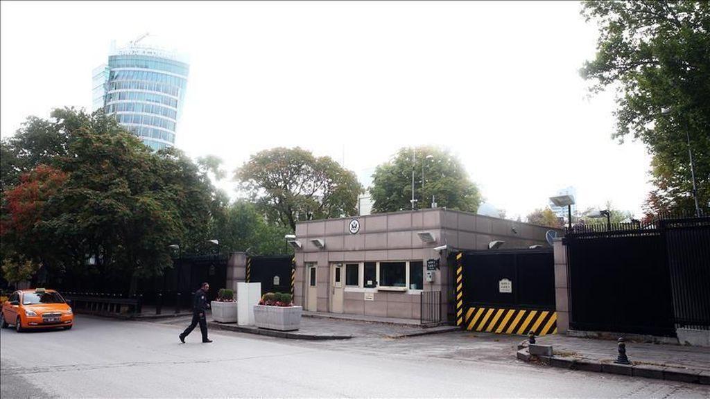 Turki Tangkap 2 Tersangka Penembakan Kedubes AS di Ankara