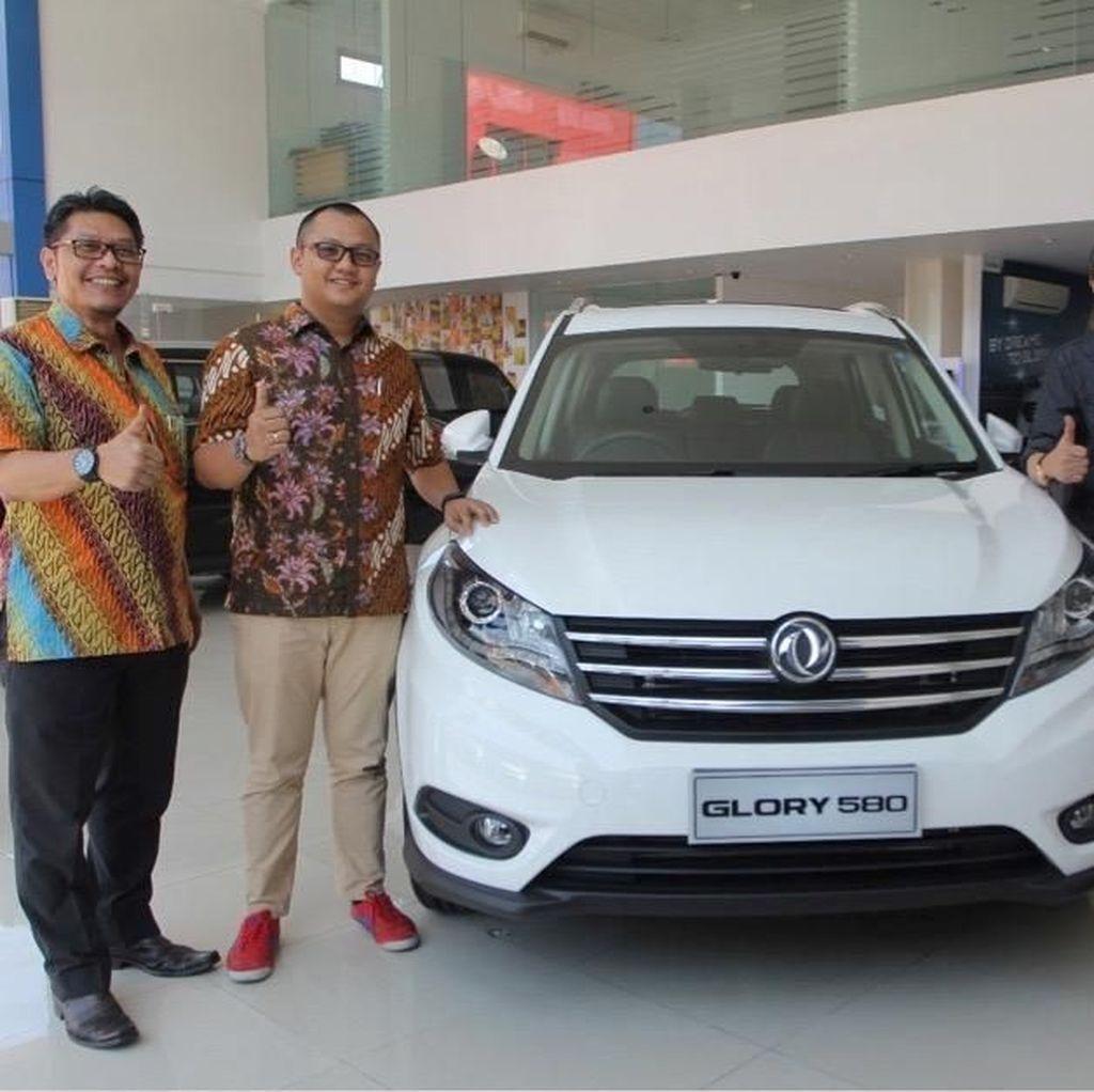 DFSK Perkenalkan SUV Glory 580 di GIIAS Makassar 2018