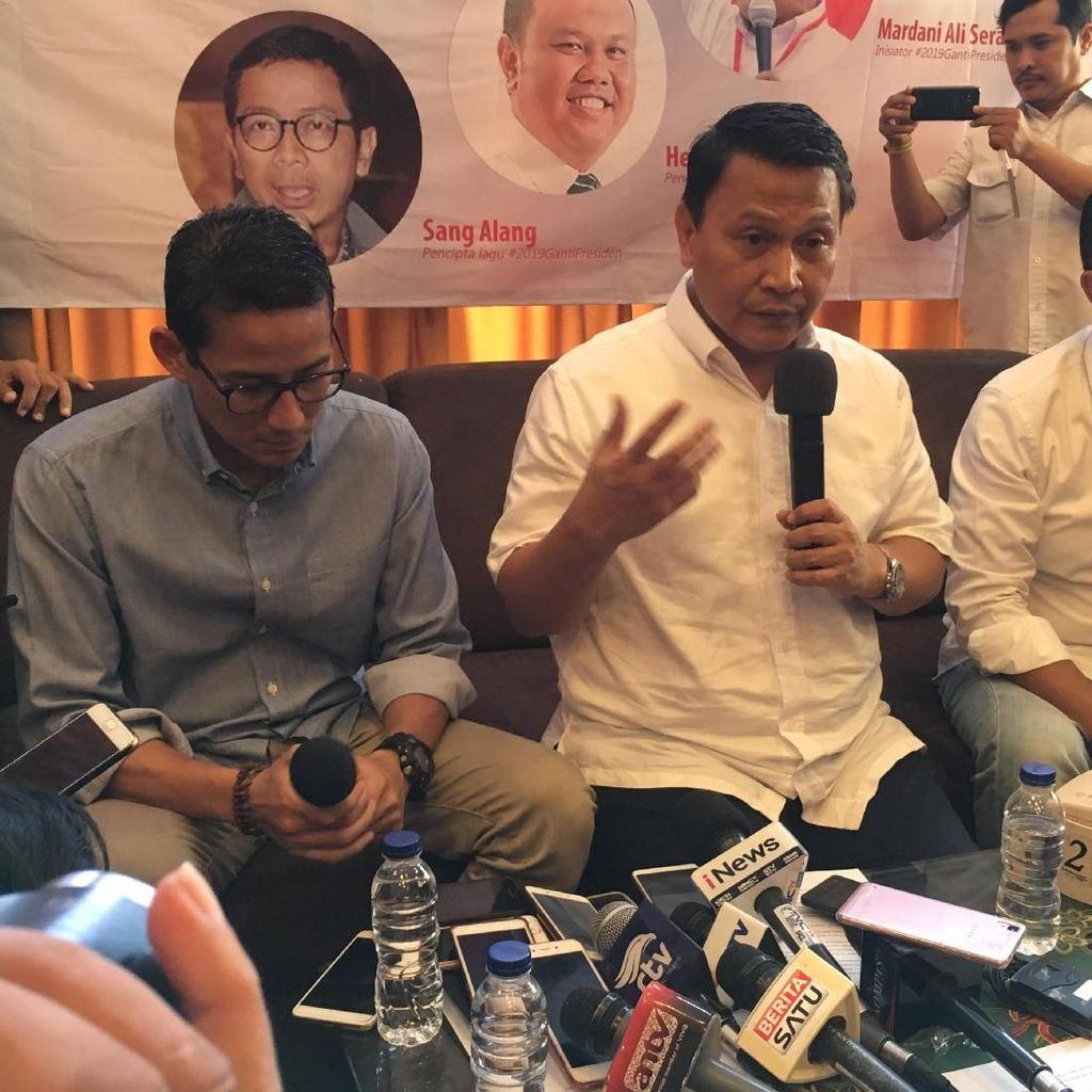 Kubu Prabowo Sandi Komitmen Kampanye Damai Berkualitas