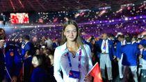 Liburannya Atlet Asian Games Cantik Kirgistan, Anuta Bulanova