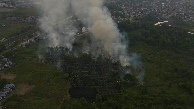 2 Orang Diamankan Terkait Kebakaran Dekat Wisma Atlet Jakabaring