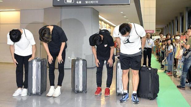 Sebanyak empat pebasket Jepang dipulangkan karena terlibat prostitusi di Jakarta. (