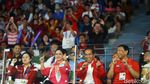 Jokowi Joget Dayung di Final Badminton Asian Games