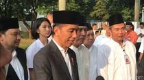Melihat Aksi Ambar Claudia, Paspampres Wanita yang Mengawal Jokowi