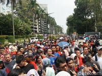Ricuh, Penonton Emosi Tak Dapat Tiket Final Bulutangkis Asian Games