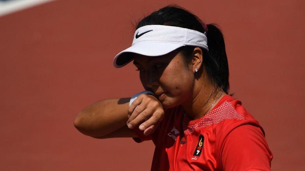 Aldila Kalah, Indonesia Tanpa Medali di Tenis Tunggal Putri