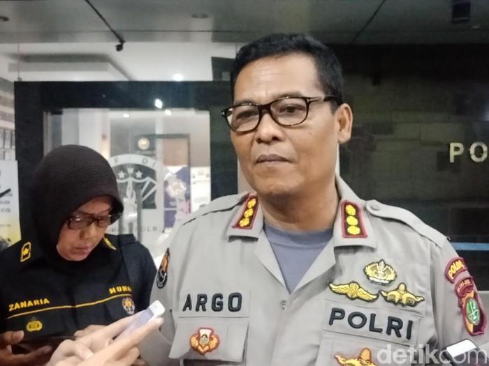 Kabid Humas Polda Metro Jaya Kombes Argo Yuwono (Foto: Kanavino Ahmad Rizqo/detikcom)