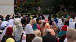 Ketika Umat Muslim AS Salat Idul Adha di Washington Square Park