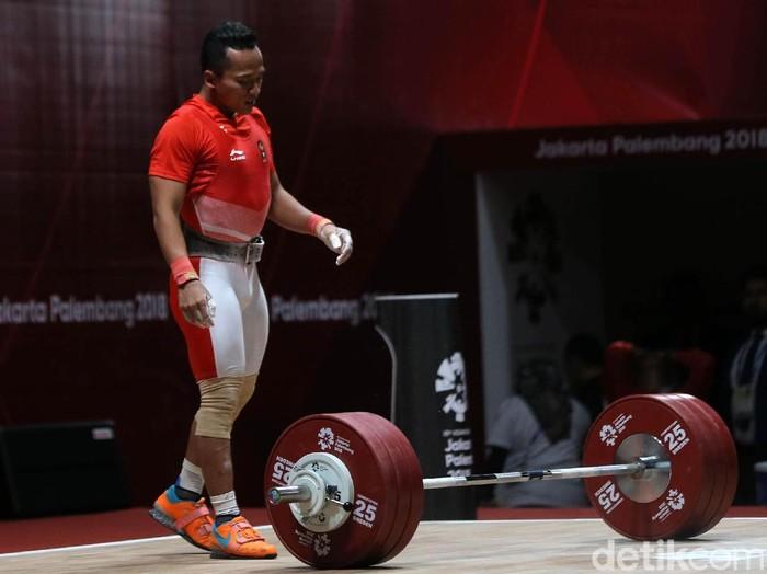 Lifter Tanah Air Triyatno gagal menambah medali Indonesia di Asian Games 2018. Triyatno kalah di kelas 69 kg putra. Bertanding di JIExpo Kemayoran, Jakarta, Rabu (22/8/2018), Triyatno hanya mampu mendapatkan total angkatan 329. Rinciannya adalah 147 untuk snatch dan untuk 182 clean and jerk.