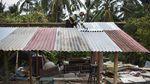 Potret Korban Gempa Lombok Salat Idul Adha di Pengungsian