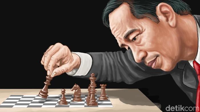 Ilustrasi tim pemenangan Jokowi