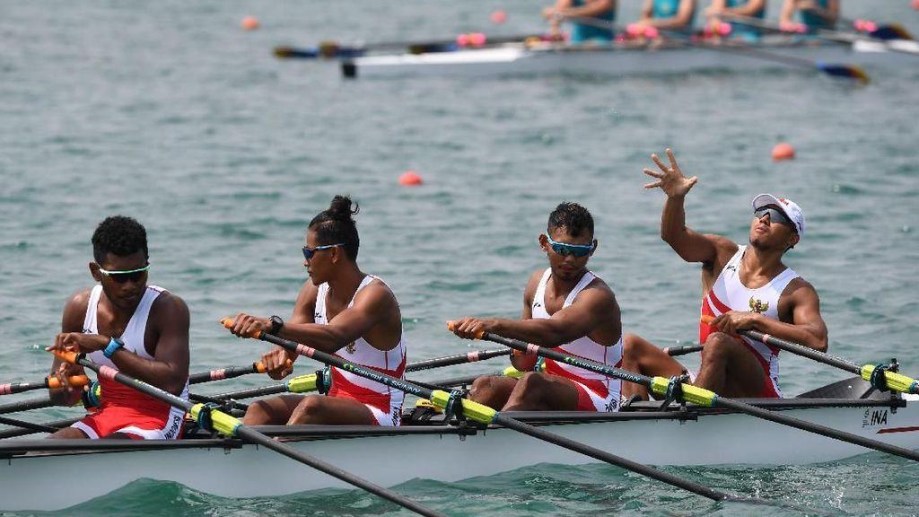 Dayung Juga Raih Perak untuk Indonesia di Asian Games 2018