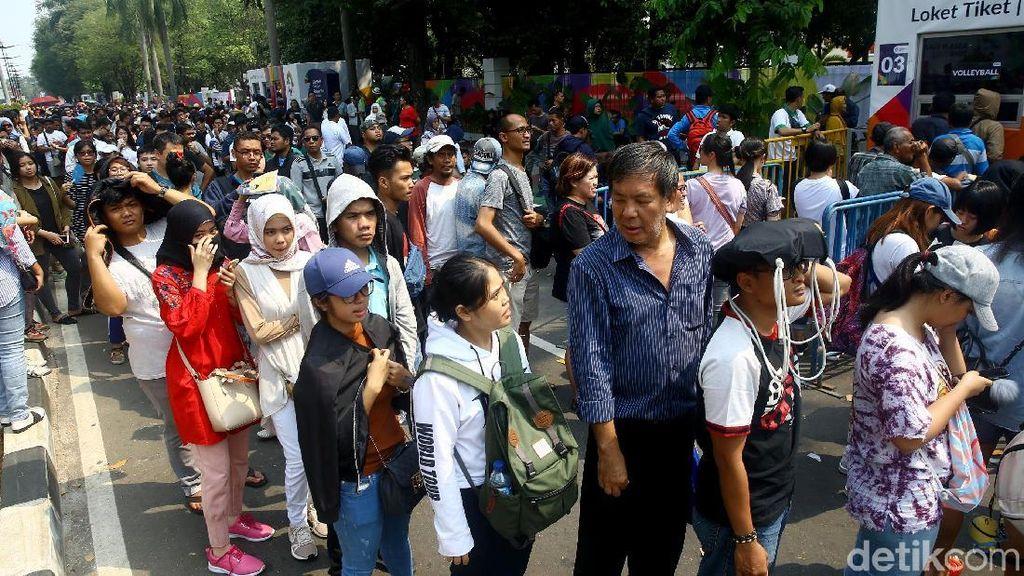 Indonesia masuk Final, Antrean Tiket Cabor Badminton Mengular