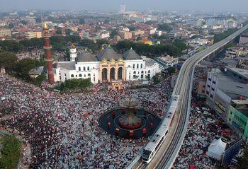 Momen Pelaksanaan Salat Idul Adha di Berbagai Daerah di Indonesia