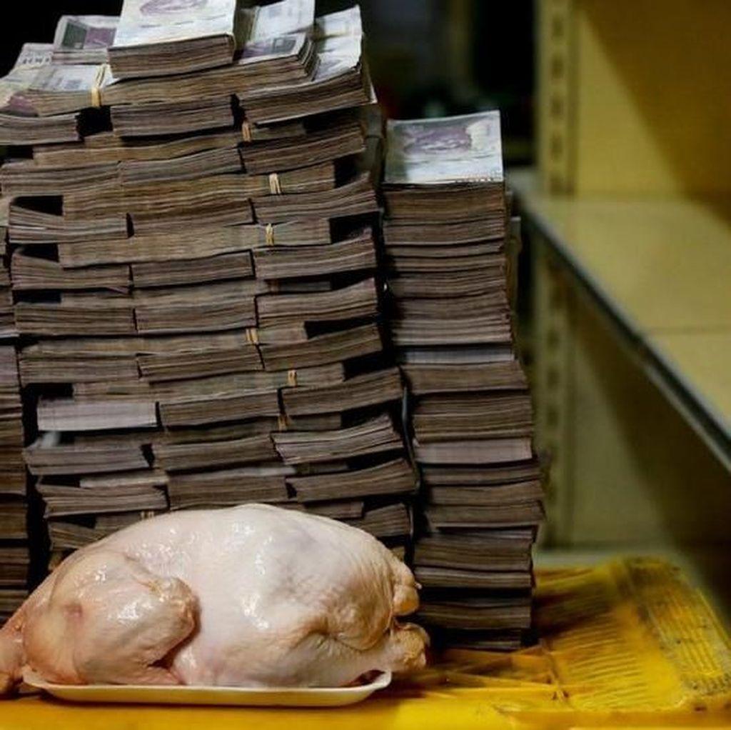 Mata Uang Venezuela Ambruk, Harga Tisu 2 Juta, Ayam 14 Juta
