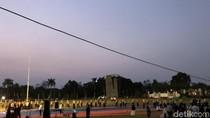 Jokowi Salat Idul Adha di Lapangan Cibinong, Bogor