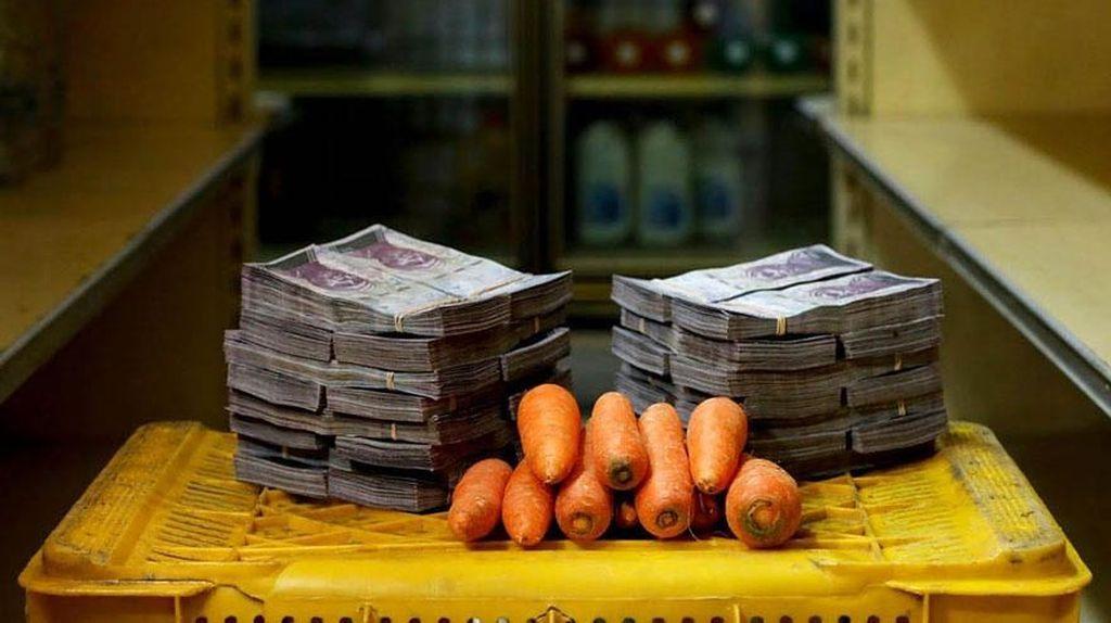 Cetak Rekor Lagi, Inflasi Venezuela Capai 200% Sebulan!