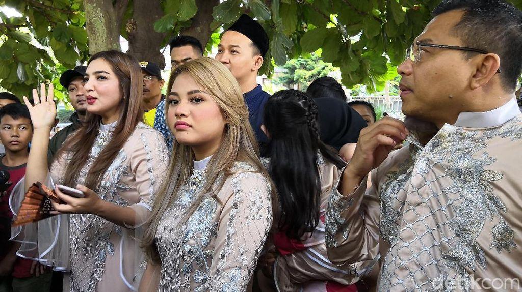 Anang-Ashanty Kurban 5 Ekor Sapi dan Seekor Kambing