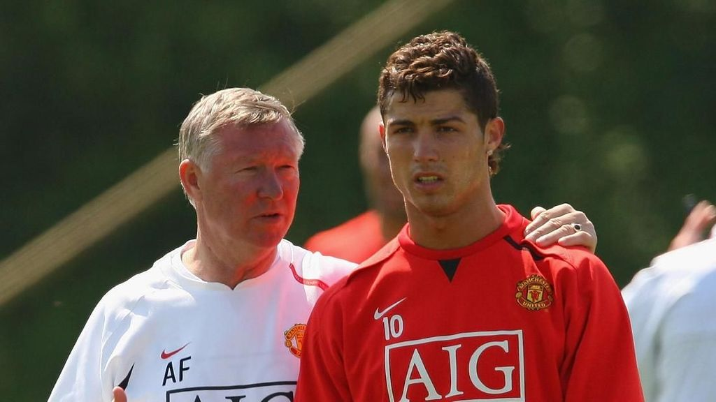 Nasihat Pertama Ferguson untuk Cristiano Ronaldo