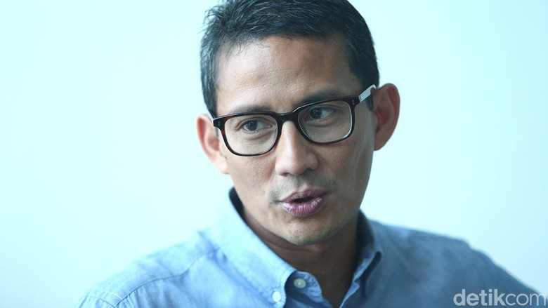 GNR Dukung Jokowi-Ma'ruf, Sandiaga: Kita Apresiasi