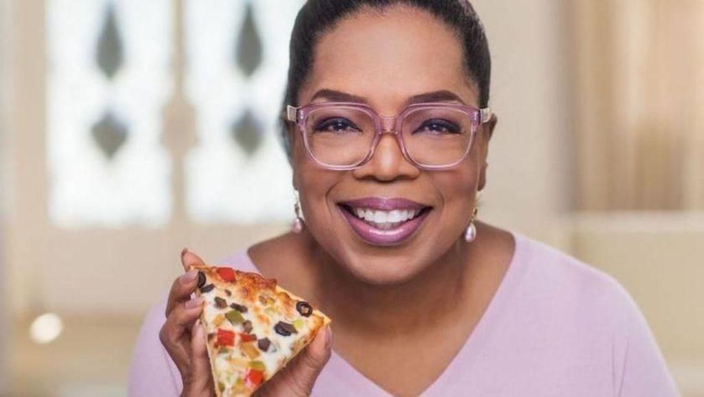 Oprah Perkenalkan Pizza Beku Sehat dengan Paduan Kembang Kol
