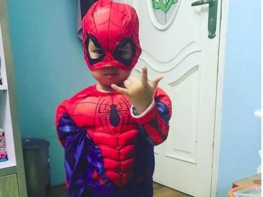 Spiderdanishman in action! (Foto: Instagram @danisharsenio)