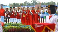 Hasil tersebut membuat Indonesia saaat ini sudah mengoleksi 7 medali emas, 5 perak, dan 8 perunggu.