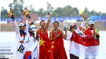 Dayung Ganda Putri Indonesia Raih Medali Perunggu