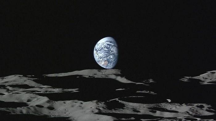 Permukaan Bulan. Foto: BBC Magazine