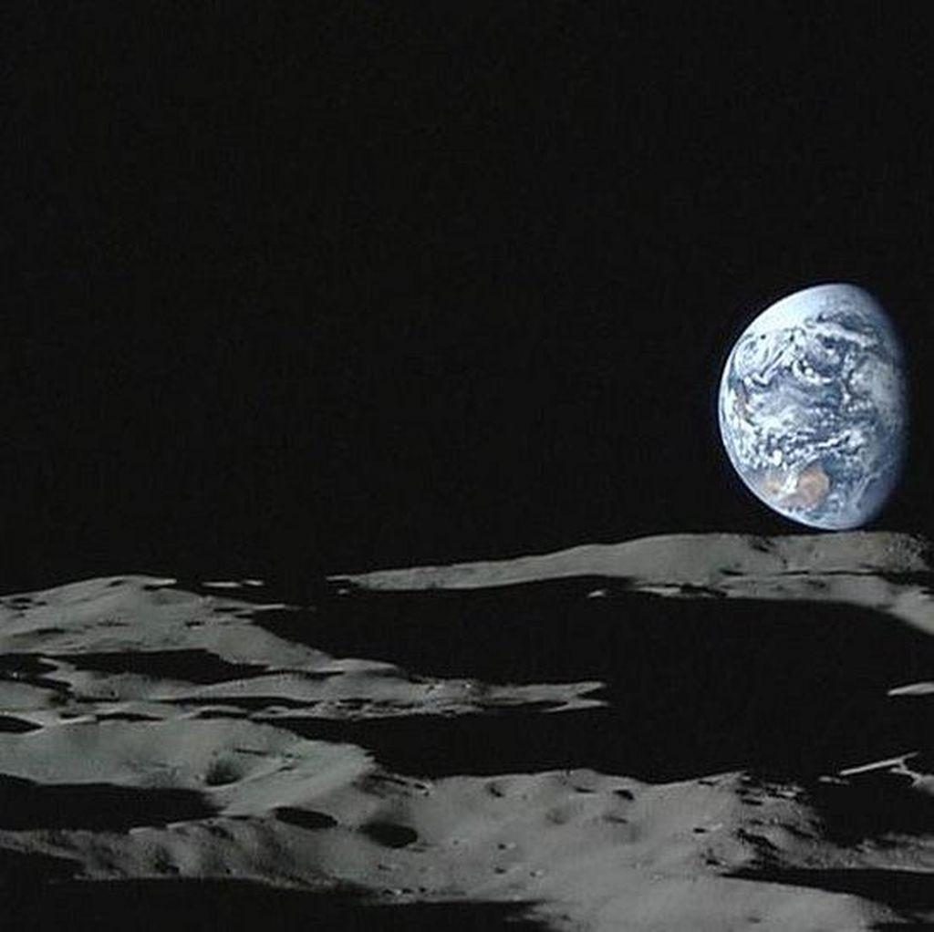 Wahana Antariksa Israel Gagal Mendarat di Bulan