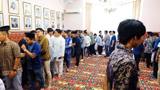 Sekitar 300 orang berkumpul di KBRI Moskow dalam Idul Adha tahun ini