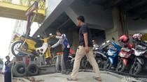 Terciduk! Parkir Liar, Motor-motor Volunter Asian Games 2018 Diangkut