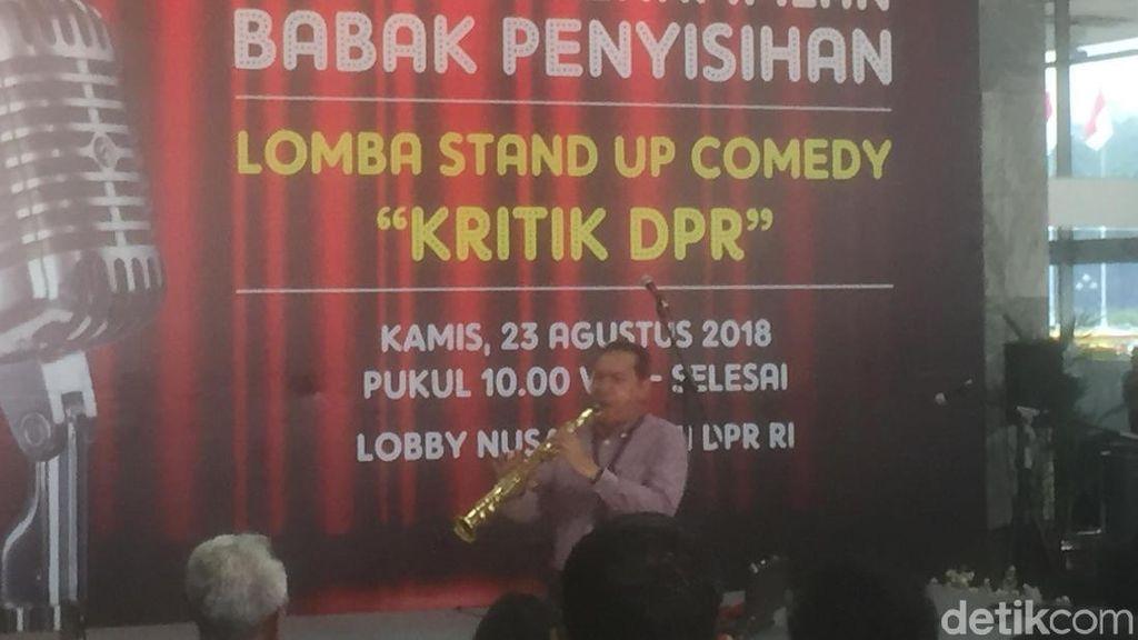 Pimpinan KPK Unjuk Gigi Main Saksofon di Lomba Kritik DPR