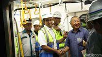 Pengalaman Anies Jajal MRT Jakarta