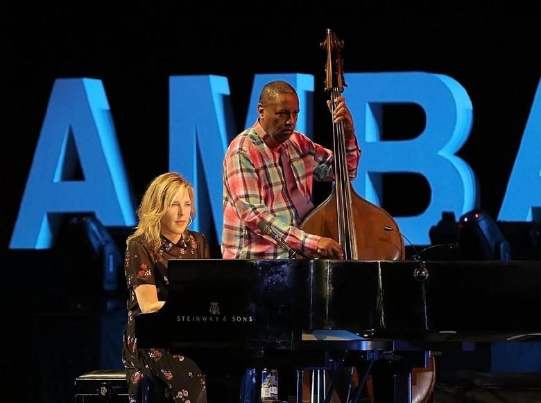 Bangga, Kesan Diana Krall Tampil di Prambanan Jazz Festival