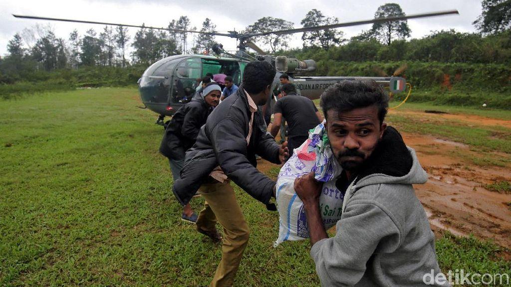 India Tolak Bantuan Asing untuk Korban Banjir