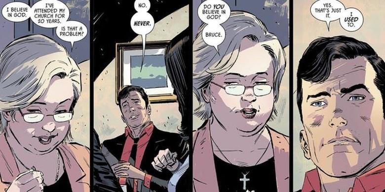 DC Comics Konfirmasi Kontroversi Batman Adalah Ateis Foto: DC Comics