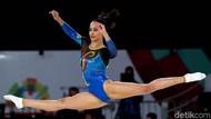 Melihat Pesona Kecantikan Atlet Senam Artistik